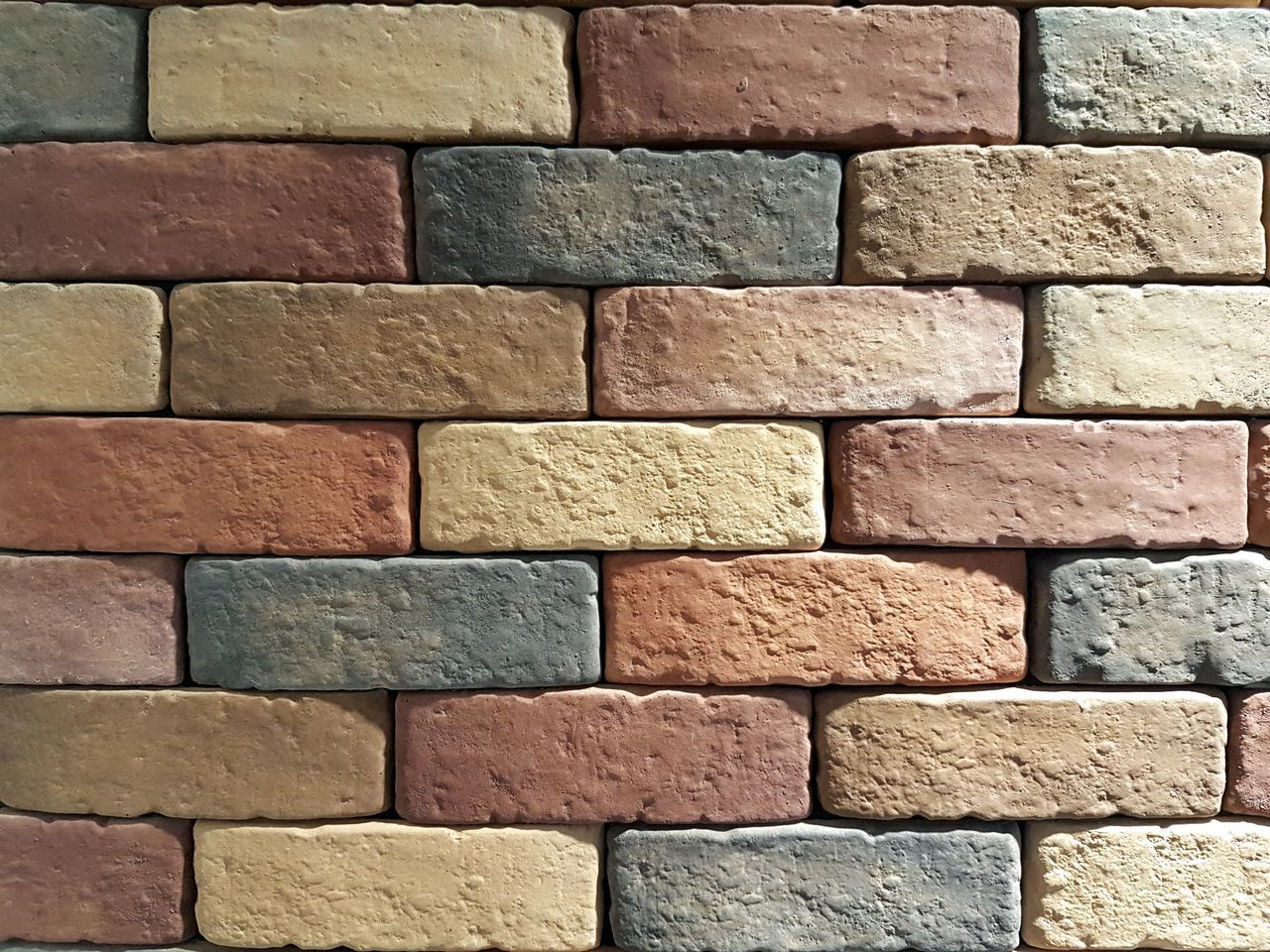 backgrounds, full frame, brick, pattern, brick wall, wall, architecture, wall - building feature, textured, no people, built structure, red, close-up, large group of objects, construction material, in a row, outdoors, design, repetition, day