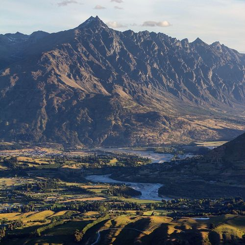 Remarkables from Coronet Peak New Zealand New Zealand Scenery Queenstown The Remarkables Mountain Landscape Mountain Range Nature Scenics Tranquil Scene Outdoors Beauty In Nature Tranquility Travel Destinations