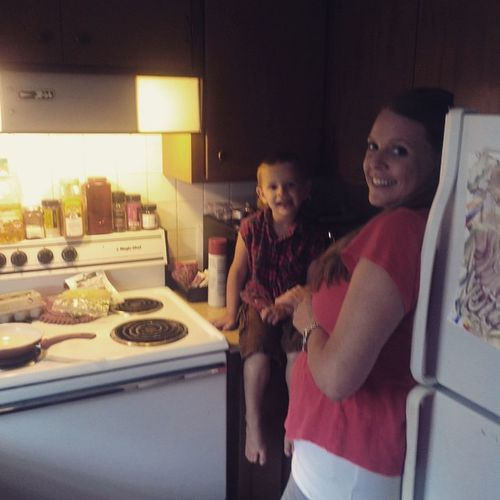 Cooking with miss Ssrah! Earlyheadstart Learning Cooking Activities Boymom Yummy Omelets Fun Learningathome