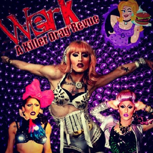 Join me at HambugerMarys Longbeach for my weekly Drag Revue WerkAKillerDragRevue !! It's going to be insane! Showtime 8:30 NO COVER! See you on the dance floor baby! Add our fan page www.Facebook.com/WERKaholic