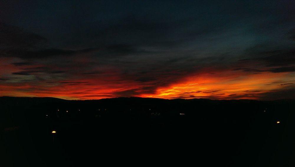 red sky Sunset Sunrise