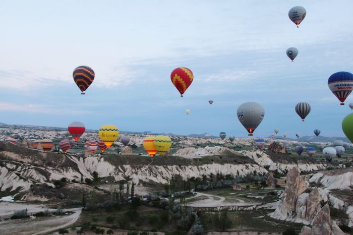 Cappadocia Hot Air Ballon... priceless experience... Amazing View Nature Colourfull Beautiful Nature Hot Air Balloon Priceless Moment  Up In The Air
