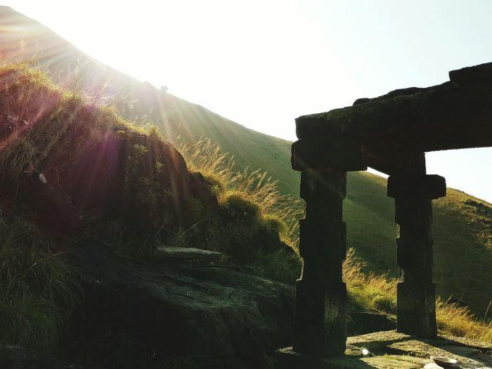 Kallu Mantapa EyeEm Selects The Week On EyeEm Kumara Parvatha Beauty In Nature Sky Outdoors Landscape Mountain Go Higher