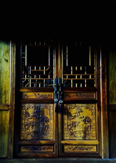 What's behind the door? Architecture Temple Architecture Ancient Architecture Wood - Material China
