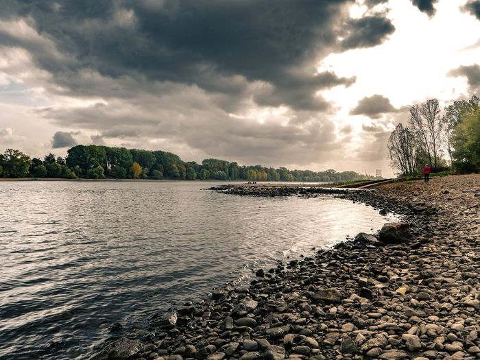 der Rhein in drüber Herbststimmung Canon Canonphotography Tranquility Tranquil Scene Andernach Germany Urban Park River Autumn Autumn🍁🍁🍁 Water Waterfront Nature Nature_collection Landscape_Collection Outdoors Sky Cloud - Sky Clouds And Sky Sunset Tree Water Beach Sunset Lake Palm Tree Sky Cloud - Sky Landscape