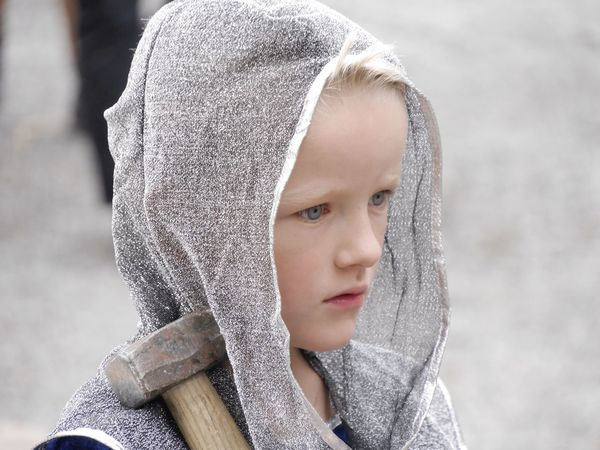 Headshot Innocence Cute Childhood Hood - Clothing Focus On Foreground Human Face Street Photography The Past Street History Lenzburg Midevil Midevil Costume EyeEmSwiss Switzerland Streetphotography Old Times Close-up Innocence Well-dressed The Purist (no Edit, No Filter)