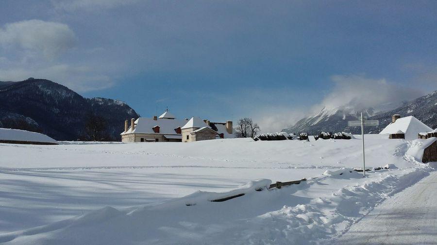 Pavillon Des Officiers Alpes Vauban My Village Neige❄