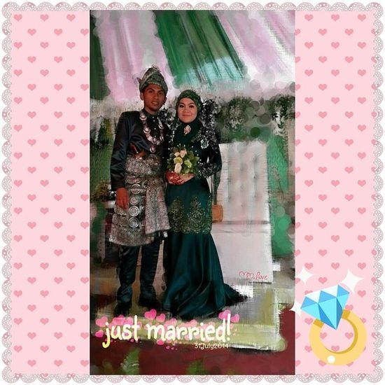selamat pengantin baru kazen..semoga kekal hingga ke jannah,amin! LongLive ! Justmarried