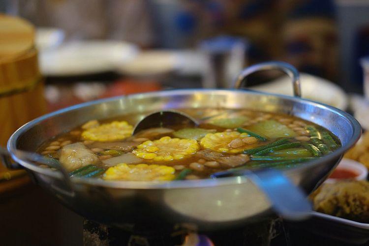 Sayur asem... Traditional Food Indonesian Food Sayur Asem Culinary Traditional Culinary Kuliner Kuliner Indonesia Indonesian Culinary
