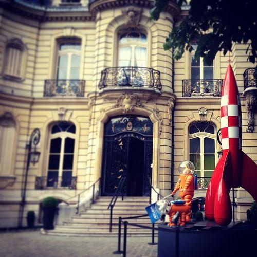 France Paris Champselysées Artcurial tintin