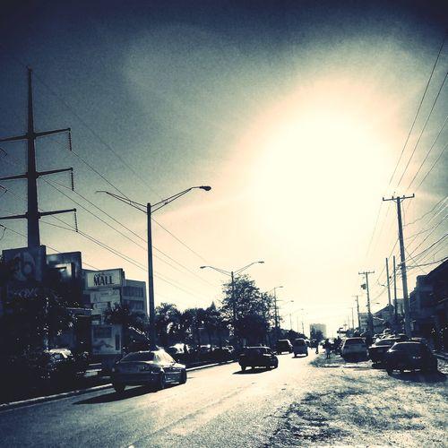 tears of te sun Sun Light Sunset Cars