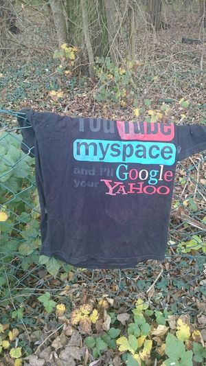 T-shirt Youtube Myspace Yahoo Google