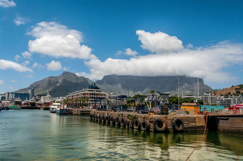Cape Town Kapstadt Mountain Nature South Africa Table Mountain Tafelberg Waterfront