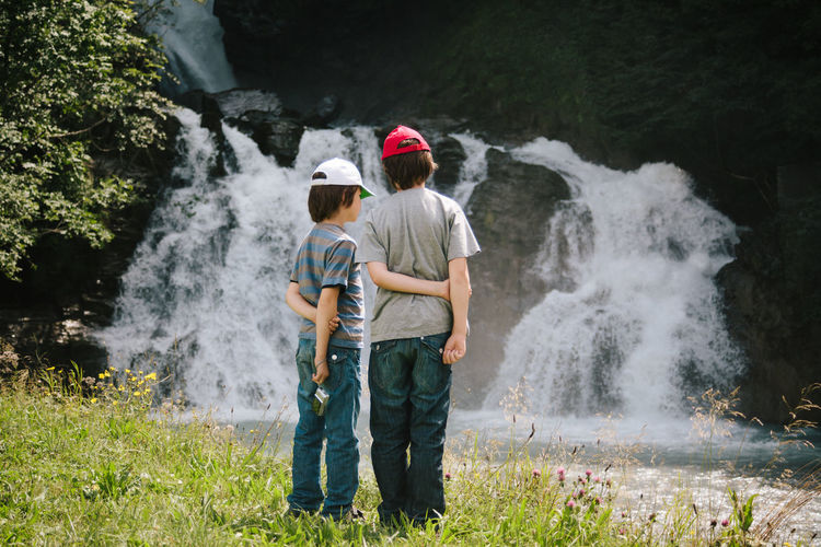 Reichenbachfälle in Switzerland Day Nature Nature Outdoors Outdoors Photograpghy  People River Water Waterfall