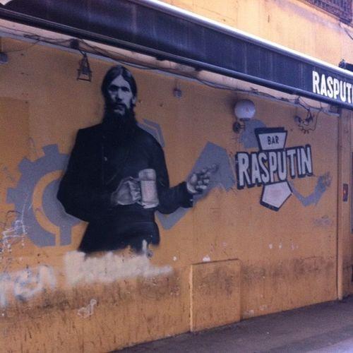Istanbul Beyoğlu Taksim Istiklal rasputinbar rasputin bar eglence street streetart paint art
