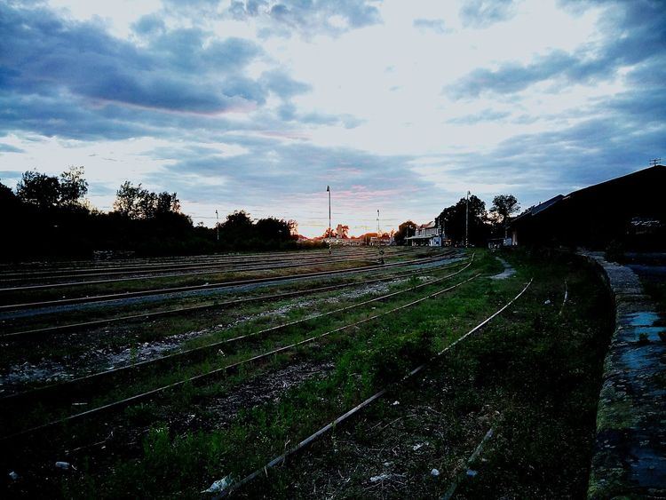 Train Station in the evening First Eyeem Photo