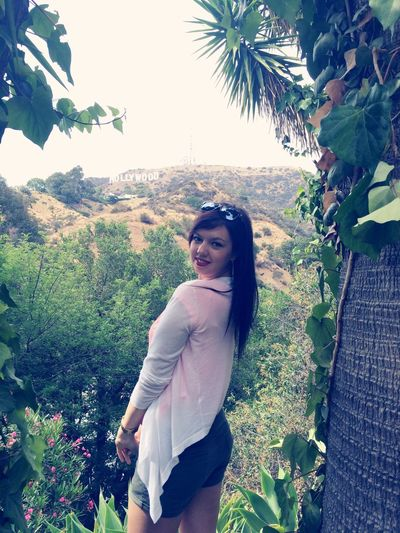 Hollywood sign! Love everything in La Losangeles Los Ángeles California Girl Redlips