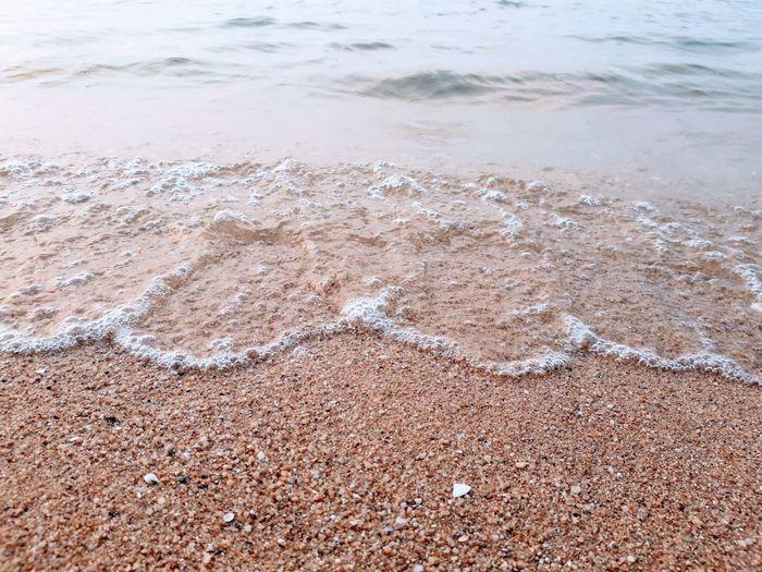 sea sand on the