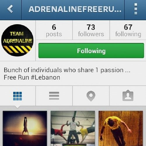 @adrenalinefreerunleb ....follow them..they re following their passion Freerun  Lebanon. .proud of you ZaherZiadeh