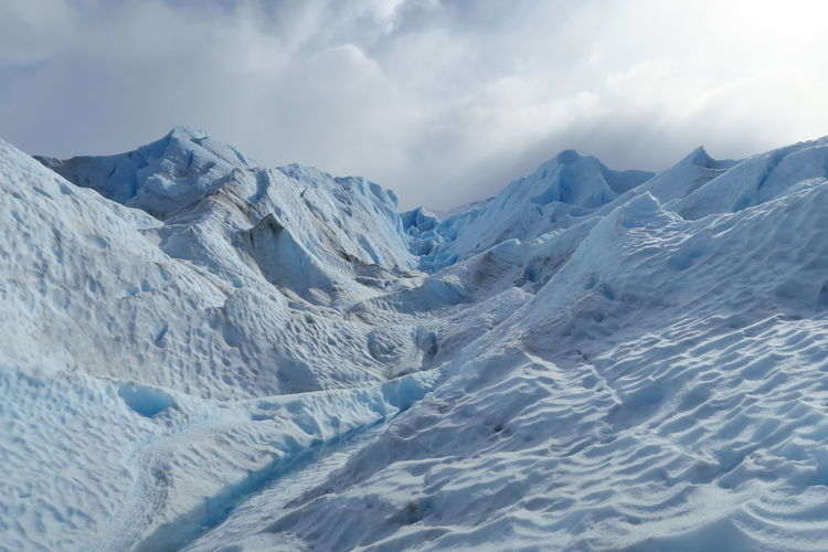 Argentina Perito Moreno. Patagonia. Argentina. Glacier Fresh Ice Snow Nature Ice Age