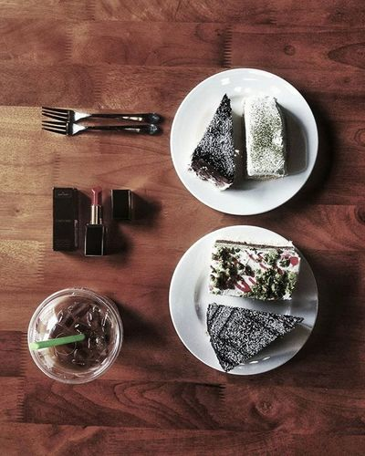 Nghịch 🙈 Passiocoffee Cafelatte Itbakery Sonice Love Cake Delicious Loveit Flatlay Great Wednesday Goodday Love Photo Byme 😉