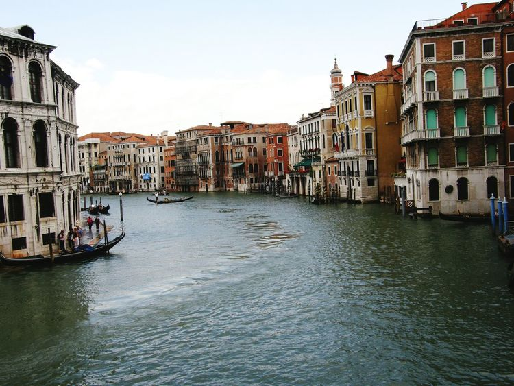 Venice Venice, Italy Travel Water Architecture Canal City No People Buildings Cultures Sky
