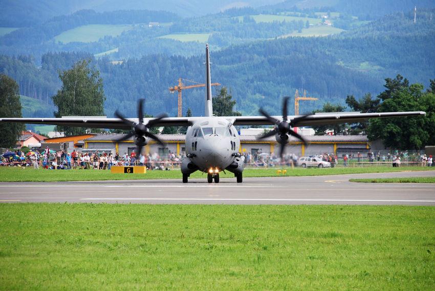 Air Vehicle Airplane Austrian Airforce Hercules Landing Plane Military Airplane Military Plane Military Planes Mountain Transport Plane Transportflugzeug Österreichisches Bundesheer