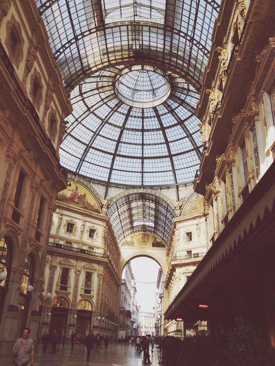 Milano Galleria Duomo