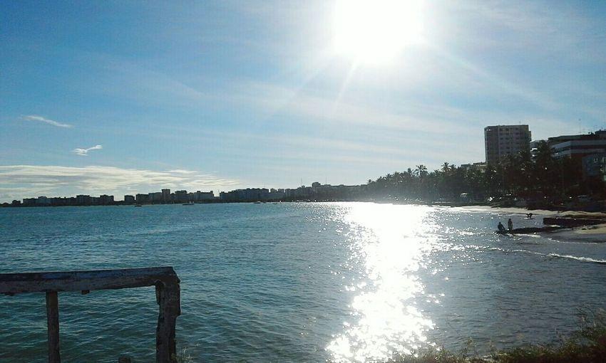 Meu Céu Azul. Natureza Mar Alagoinhas Positive Vibes PontaVerde Goodvibes Praia ♡