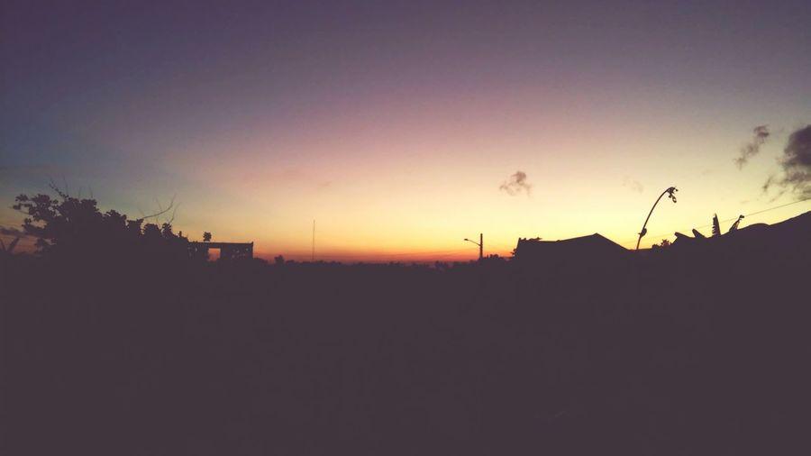 Sunset Enjoying Life