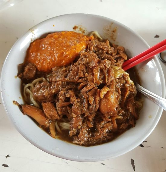 """Mie Ayam"" Food Noddles Nyummy Traditionalfood Manispedasgurih Sweet-hot-salty DeliciousFood  EyeEmNewHere"