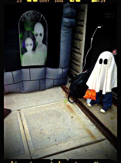 Ghosts Happy Halloween!