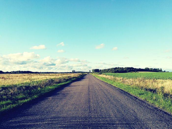 Road county Sky