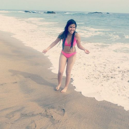 Never be afraid to do something so that you have a good memory.♡ Huatulco \*--*/