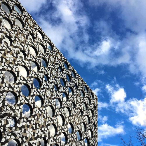Sky Low Angle View Cloud - Sky Architecture No People Built Structure Building Exterior Outdoors Streetphotography Blue London