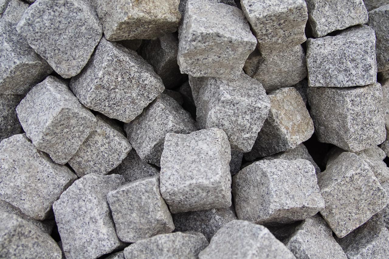 Full Frame Shot Of Stone Blocks