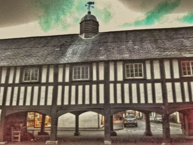 Architecture Built Structure Old But Awesome Old Building  Old Architecture Market Square Ye Olde Market Place Times Gone By Llanidloes Wooden Structure Wales You Beauty Welsh Building Town Centre Old Buildings