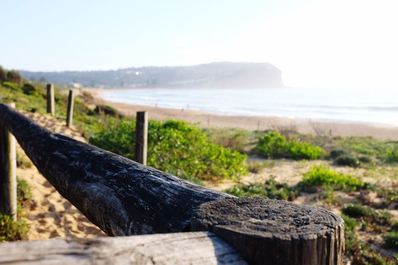 Sea Wood - Material No People Day Nature Focus On Foreground Beach Water Outdoors Horizon Over Water Scenics Wooden Post Tranquility Beauty In Nature Sky Close-up