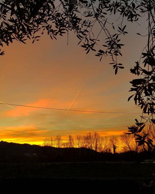 ..l'aurora di sta mattina.. Sunset Nature Beauty In Nature Sky