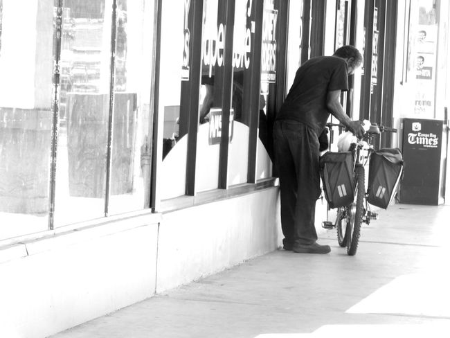 CyclingUnites Monochrome Photography Everyday Lives Everyday People Real People Candid Man Person Snapshots Of Life People Of EyeEm People Watching Every Picture Tells A Story Streetphotography Darkness And Light Light And Shadow Outdoors Notes From The Underground Blackandwhite Urban Exploration EyeEm Best Shots - Black + White City Life Random Acts Of Photography Shadow And Light Florida Floridaphotographer