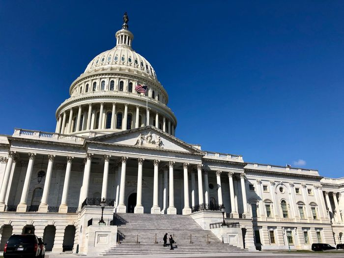 Impressive Building: the United States Capitol! Government Washington, D. C. Capitol Dome Building Exterior Religion No People Clear Sky Low Angle View Travel