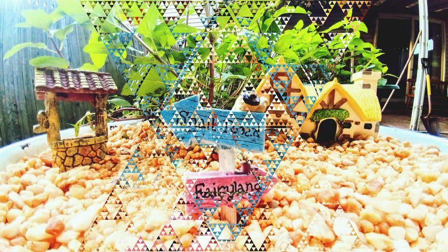 Cute Mini Gnome_home Plants Garden Mint Abstract Text Graffiti