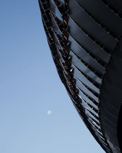 Destination moon Building France Bordeaux Clear Sky Day Moon Architecture La Cité Du Vin Outdoors The Architect - 2018 EyeEm Awards
