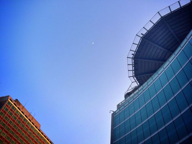 Perspectives Urban Geometry Architecture Moon