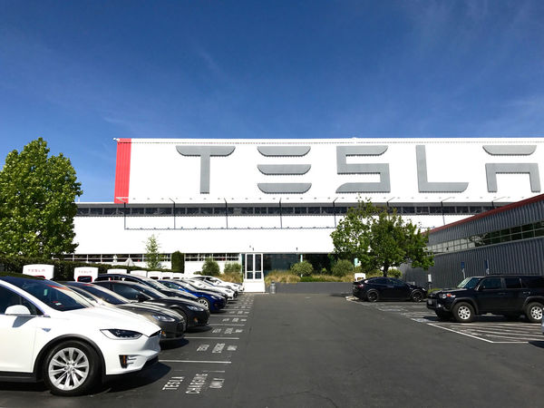 Tesla factory exterior. Fremont, California, USA. Photo by Diana Pappas. Automotive Bay Area Building Exterior California Car Cars Clean Energy Disruption Electric Electric Cars Electric Vehicle Elon Musk Factory Fremont Fremont California Innovation Luxury Manufacturing Silicon Valley Technology Tesla Tesla Motors Transport Transportation