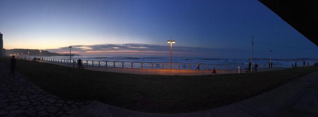 Blue Hour Salinas Asturias Hora Azul