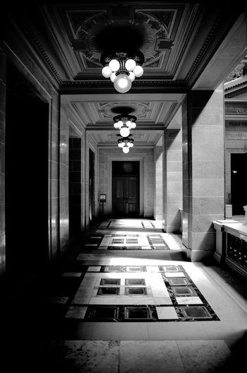 Interior of empty room