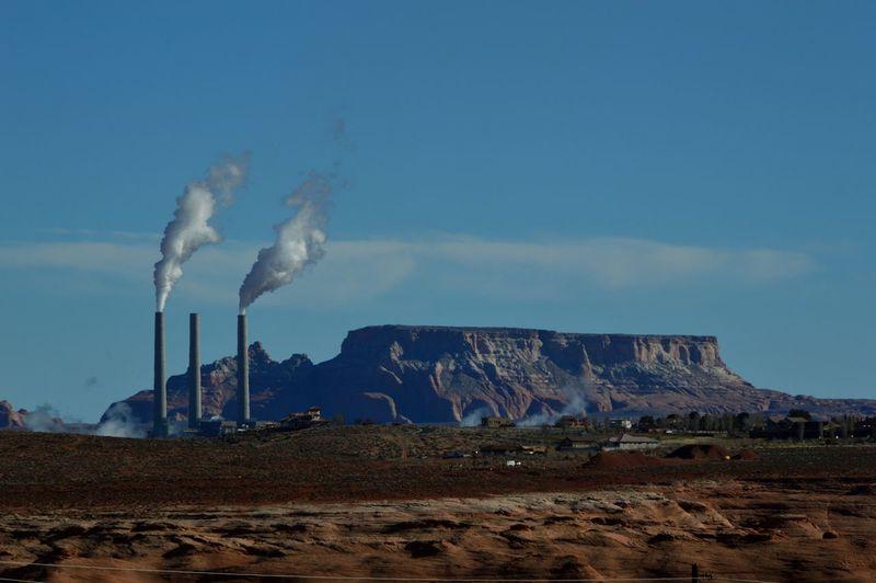 Page Arizona Navajo Reservation Landscape_photography Navajo Generating Station Coal Power Plant