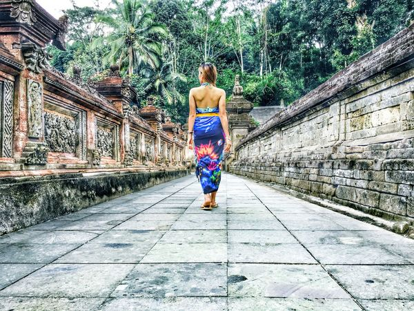 A Trip without holding hand (chapter 2). The Walking Time. By iPhone 6. At Bali Feel The Journey