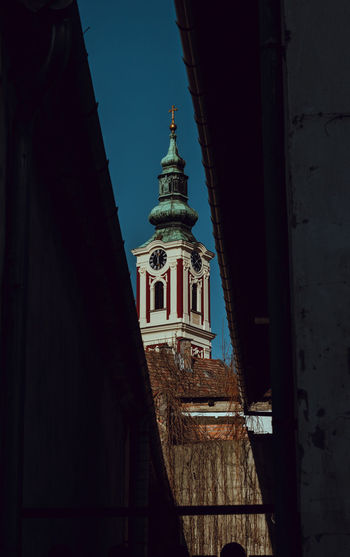 Camera - Canon 550D -Lens - 50 mm f/1.8 Blog : https://www.instagram.com/david_sarkisov_photography/ Architecture Built Structure Building Exterior Building Religion Place Of Worship Tower Low Angle View Spirituality Belief Sky No People Nature Travel Destinations Day Outdoors History Clock Spire  My Best Photo